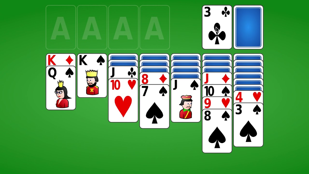 Try freecell solitaire, where every game is solvable. Play 247 Solitaire Card Games Youtube