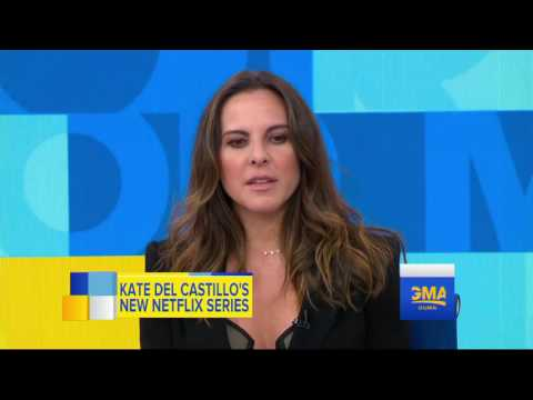 Entrevista  Kate del Castillo  Good Morning America ABC News