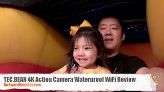 TEC.BEAN 4K Action Camera Waterproof WiFi Review