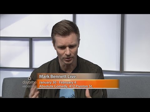Comedian Mark Bennett