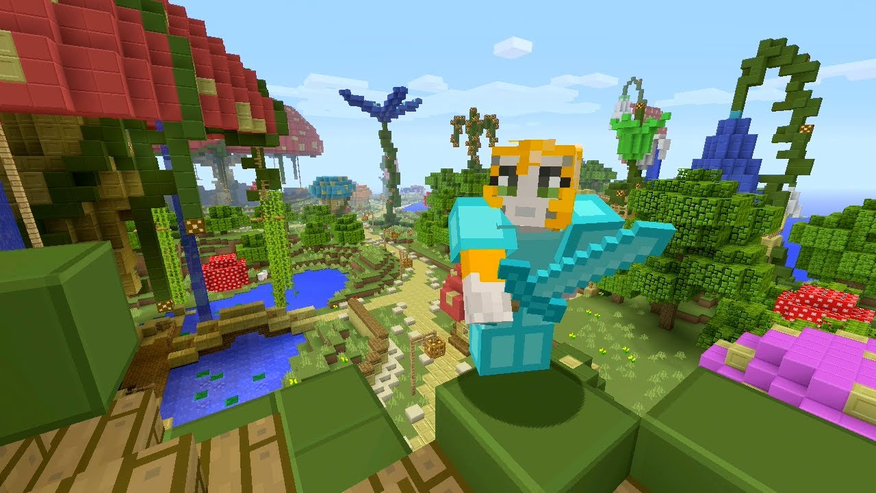Minecraft Xbox - Enchanted Kingdom - Hunger Games - YouTube