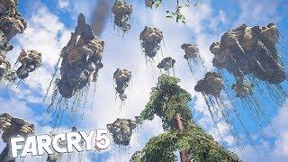FAR CRY 5 FLOATING ISLAND PARKOUR! Far Cry 5 Funny Moments & Fails!
