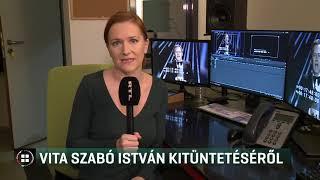 Vita Szabó István kitüntetéséről - 20-02-04
