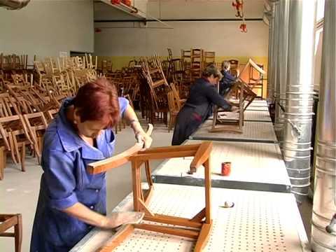 Изготовления стульев из дерева
