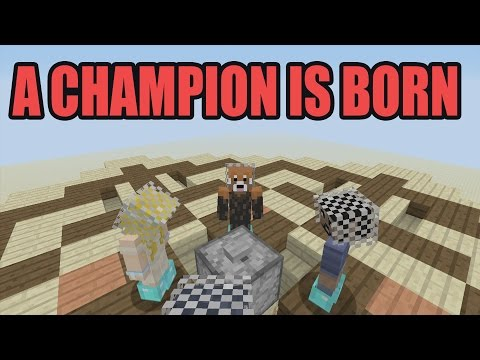 LEGENDS ARE BORN!! | Minecraft Xbox King of The Ladder w/ Friends