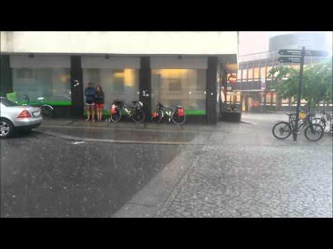 Rain in Oslo
