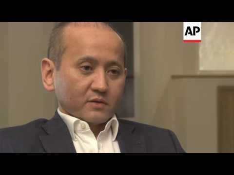 Kazakh banker fighting for regime change