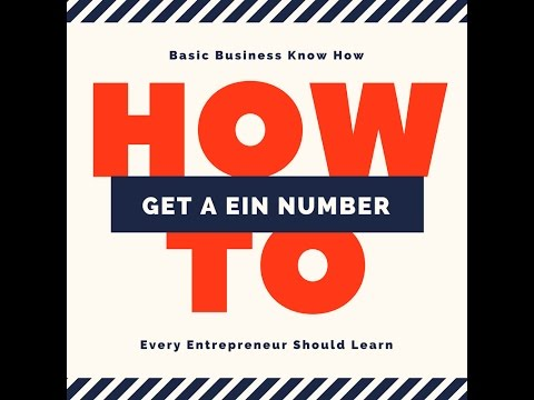 How To Get a LLC Federal Tax ID Number (EIN) - YouTube