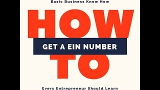 How To Get a LLC Federal Tax ID Number (EIN)