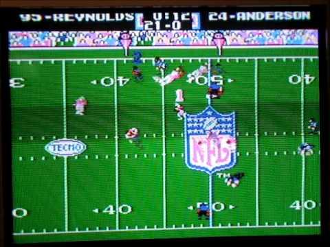 Tecmo Super Bowl XXV - New England vs. New York Giants