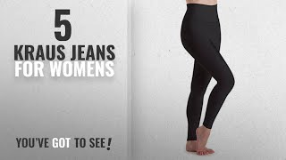 Top 10 Kraus Jeans For Womens [2018]: HIGH WAIST soft comfortable BEST QUALITY BLACK JEGGING