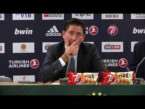 Euroleague Post - Game Press Conference: Panathinaikos OPAP Athens vs Barcelona Lassa