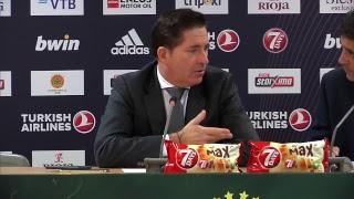 Euroleague Post - Game Press Conference: Panathinaikos OPAP Athens vs Barcelona Lassa
