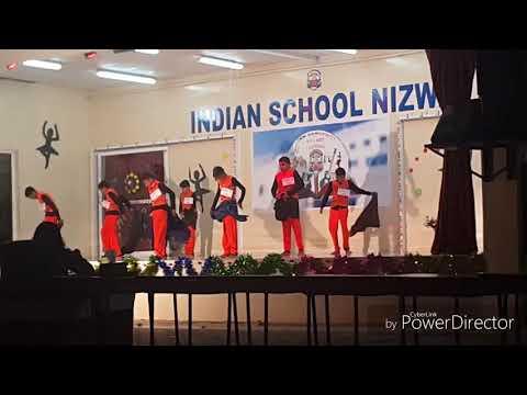 Indian School Nizwa  art festival 2017 group dance