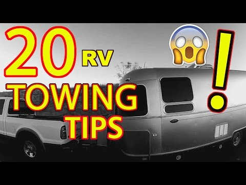 """""""Top 20"""" RV Towing Tips"""