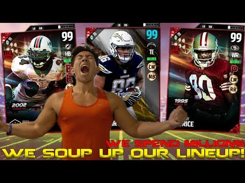 THE GOAT! ULTIMATE JERRY RICE, WILLIAMS & SPOTLIGHT HUNTER HENRY! MADDEN 17 ULTIMATE TEAM
