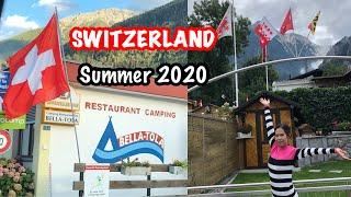 BELLA-TOLA CAMPING SWITZERLAND 🇨🇭 | SUMMER HOLIDAY 2020 | EUROCAMP CLASSIC