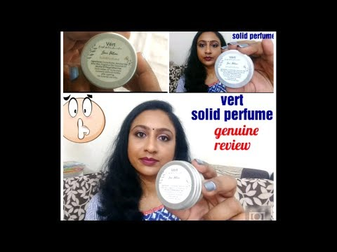 Vert love potion solid perfume review, GlamEgo June 2018, vert cosmetics,