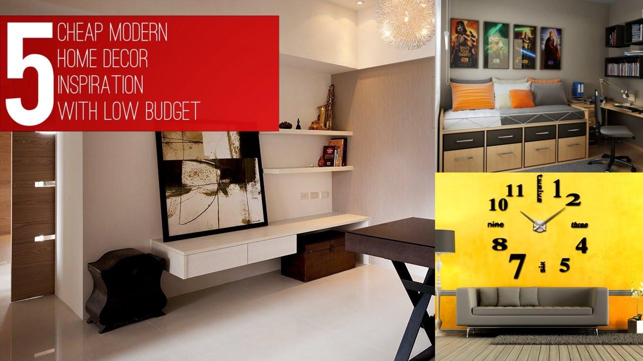 5 Cheap Modern Home D Cor Inspiration