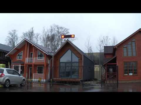 #263 Деревянные дома рядом с Синдика О. Москва. Выставка домов.