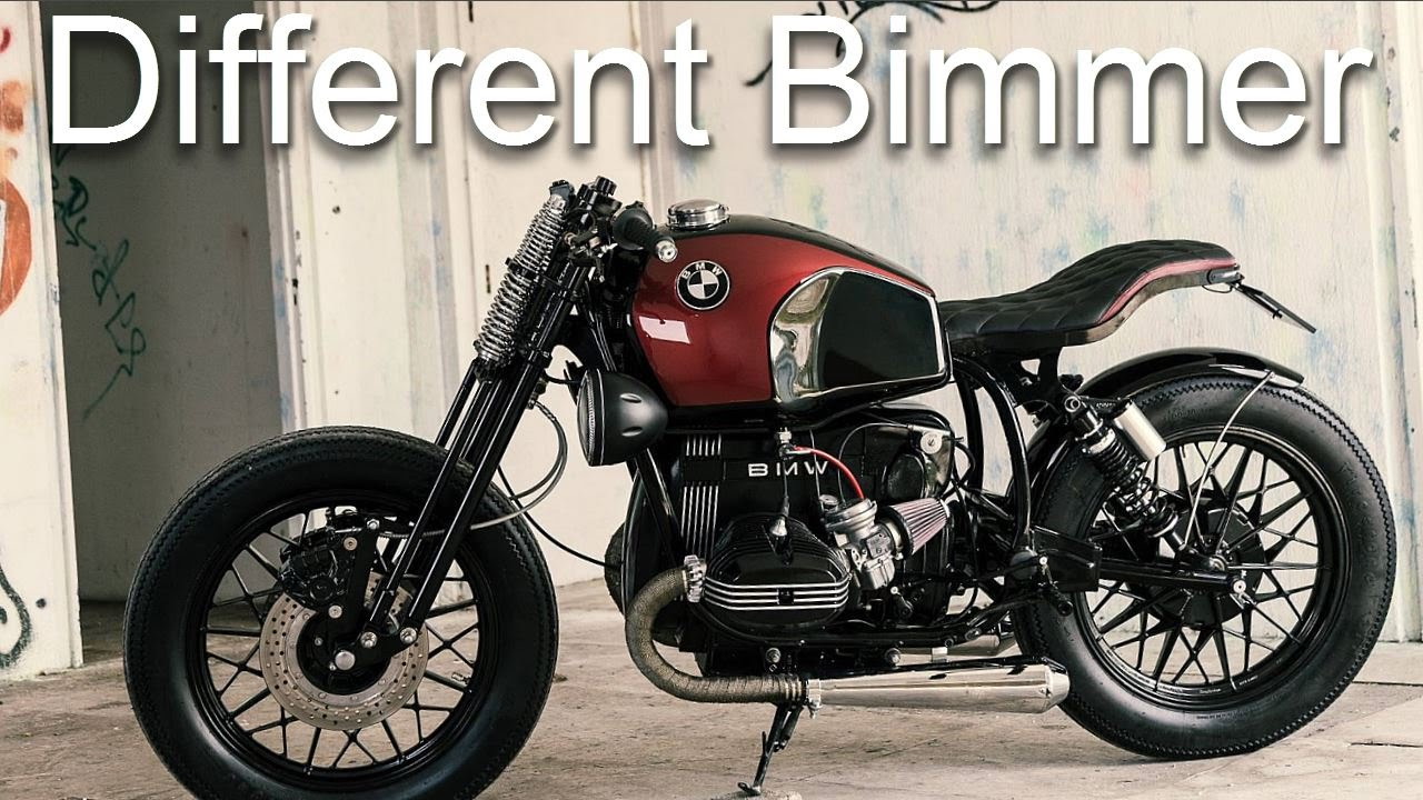 cafe racer bmw r45 by unik edition youtube. Black Bedroom Furniture Sets. Home Design Ideas