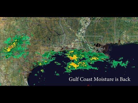 Rain in Austin & Houston & Louisiana and a minor THORnews rant about opinion.