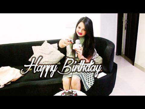 Giaa Manek celebrates her birthday with Glitz Vision