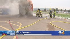 High School Students Experience First Responder Life First Hand