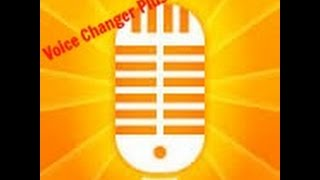Voice Changer Plus // Funny Voice Time