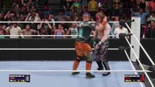 Wwe 2k18 Shawn Michaels JR vs Seth rollins fan WINNER GOES TO RAW
