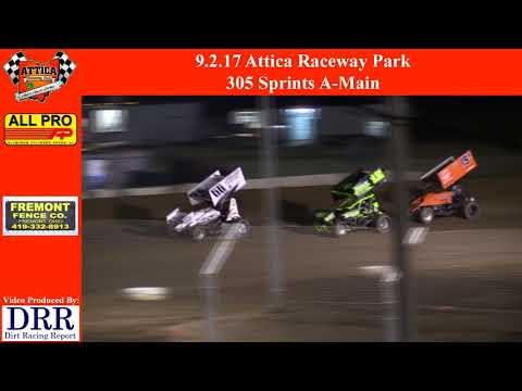 9.2.17 Attica Raceway Park 305 Sprints A-Main
