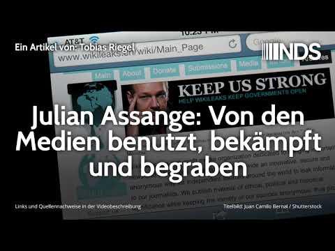Julian Assange: Von den Medien benutzt, bekämpft und begraben | xxxAutor | NachDenkSeiten-Podcast