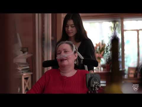 Sandra's Story: An Artist Living with ALS