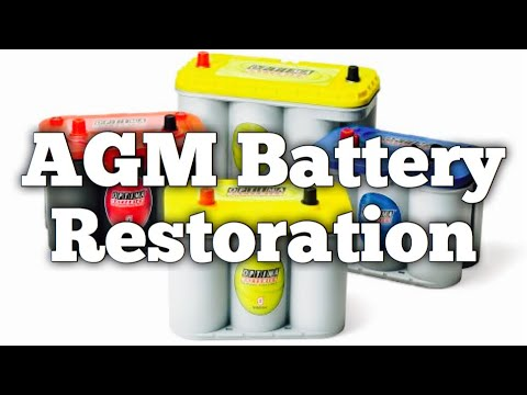 AGM Battery Restoration | Absored Glasss Mat | Northstar Optima Odyssey | Bundys Garage