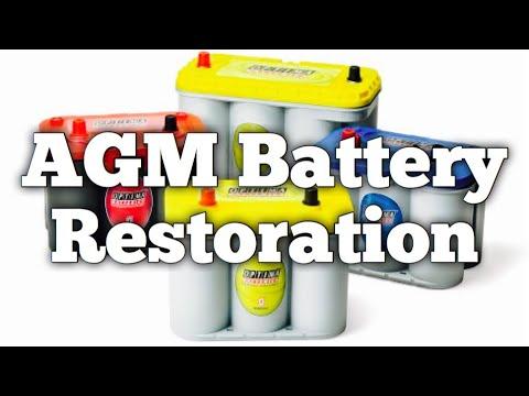 AGM Battery Restoration - Absored Glasss Mat - Northstar Optima Odyssey - Bundys Garage