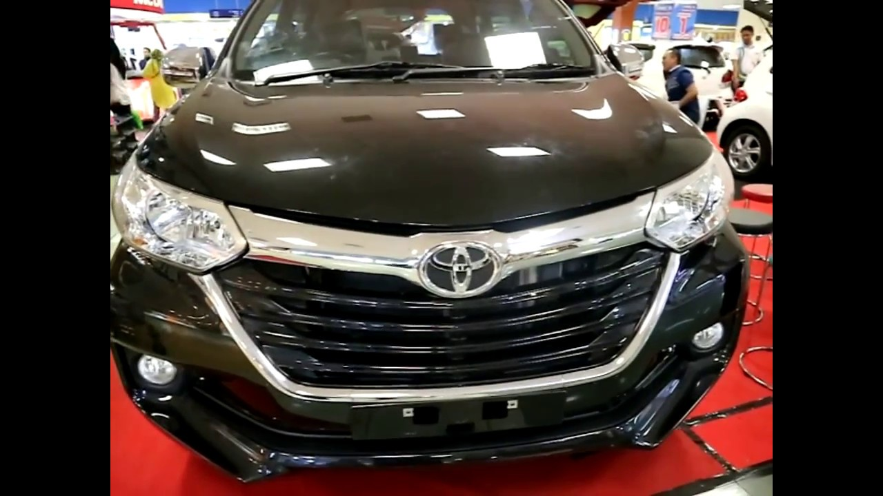 grand new avanza g 1.5 perbedaan agya dan trd toyota 1 3 type 2017 black colour exterior and interior