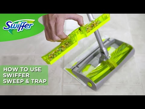 Swiffer Instructions: How To Use Swiffer Sweep & Trap | Swiffer