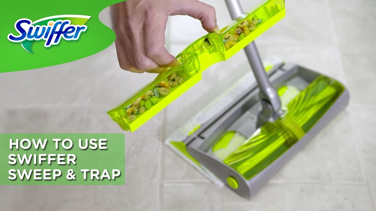 Swiffer Instructions How To Use Swiffer Sweep Amp Trap