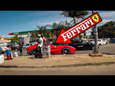 Un FERRARI en AFRICA   Vuelta al Mundo en Moto   África #98