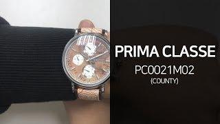 프리마클라쎄 PC0021M02 County 가죽시계 1…