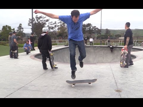 LANCE LEARNS FAKIE 360 SHOVE ITS