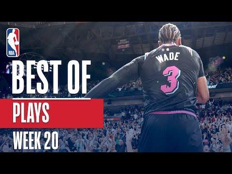 NBA's Best Plays | Week 20