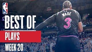 NBA's Best Plays | Week 20 Video