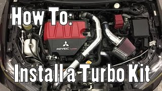 How To: Install a Turbo Kit