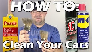HOW TO VIDEO: How I Clean My R/C Cars!