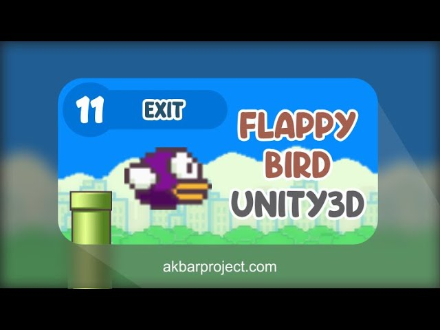 Tutorial Membuat Game Flappy Bird Dengan Unity (Part 11) - Suara/Sound Effect