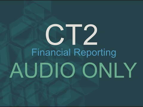 Intro to Accounts CT2.7 (Actuarial Science Financial Reporting)