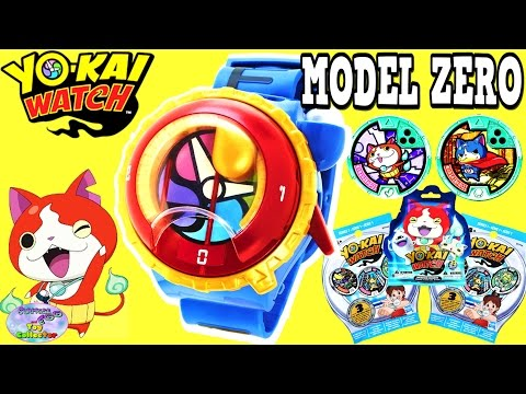 Yokai Watch Yo Motion Model Zero Watch Blind Bags Hanger Surprise Egg and Toy Collector SETC