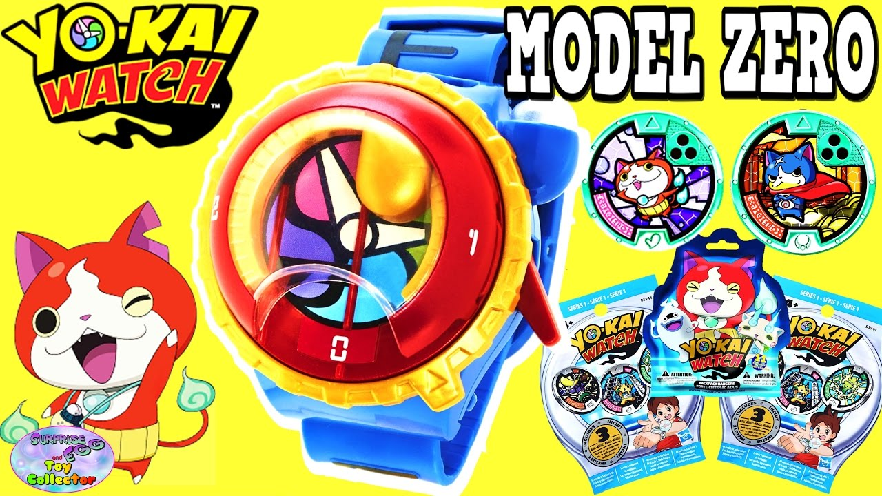yokai watch yo motion model zero watch blind bags hanger surprise egg and toy collector setc. Black Bedroom Furniture Sets. Home Design Ideas