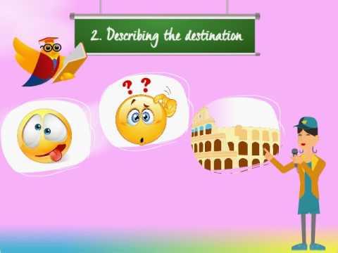Lesson 5 - Presentation skills for Tour Guides